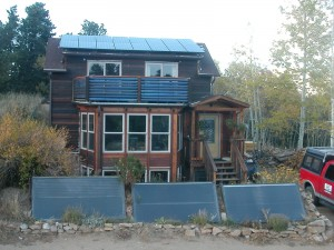 Zero Energy Home Conversion in Gold Hill, Boulder, CO